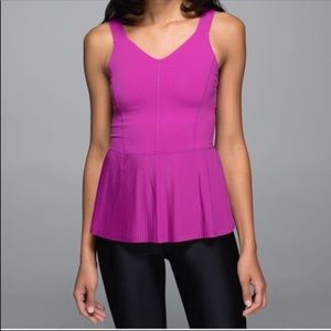 Lululemon City Tank in Ultra Violet